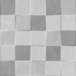 Elegant Mosaic 3D Grey