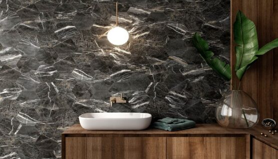 Ambijent Marquina Gold Hex