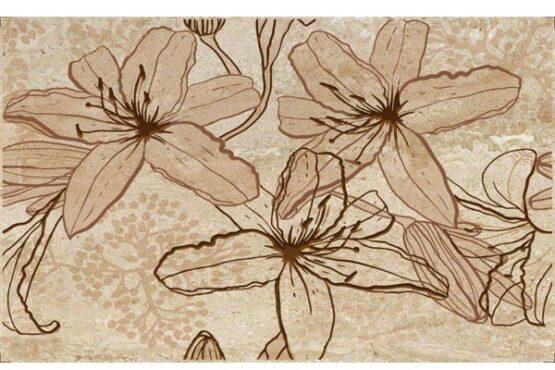 Travertino Flowers Inserto